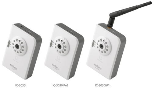 Edimax IC-3030iPoE Network Camera Drivers for Windows